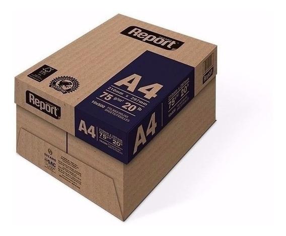 Resma Papel A4 75g 500 Hojas Report Premium