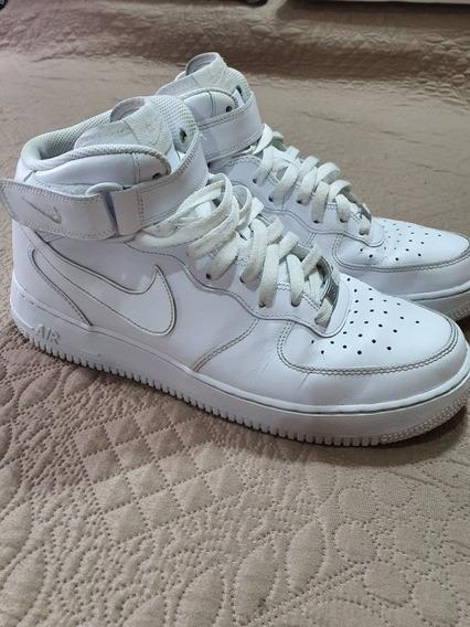 Nike Air Force 1 Mid Blancas (con Caja)