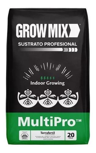Sustrato Profesional Growmix Multipro 20 L Indoor Salamanca
