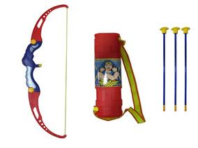 Kit Arco E Flecha Brinquedo Infantil Belfix Mulher Maravilha