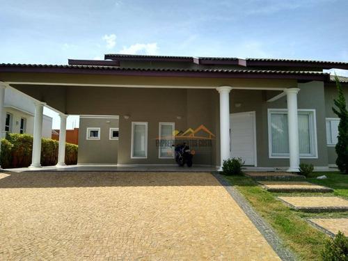 Casa Com 3 Dormitórios À Venda, 209 M² Por R$ 930.000,00 - Condominio Fazenda Palmeiras Imperiais - Salto/sp - Ca1724