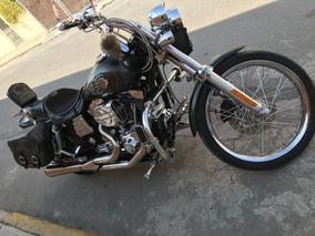Motocicleta Harley Davison Tipo Dyna Equipada.. Excelente