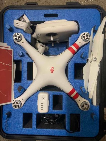 Drone Dji Phantom 2 + Vision Plus Com Case Top