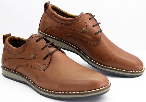 Zapato Free Comfort Cuero Base Goma M .5778 Calzados Susy