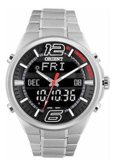 Relógio Orient Masculino Prata Mbssa047 Pvsx