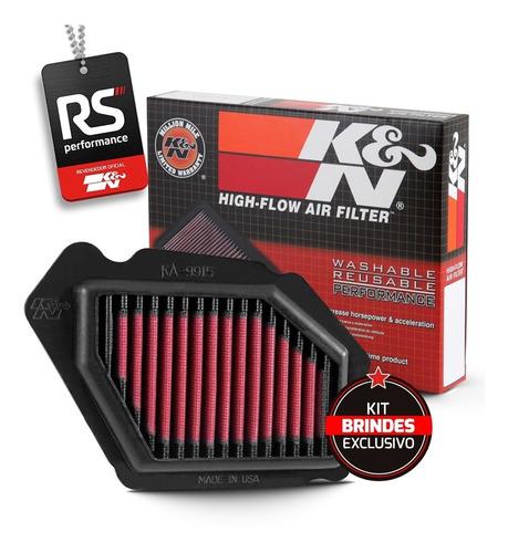 Filtro De Ar Esportivo Inbox K&n Kawasaki Ninja H2/ H2 Sx Se
