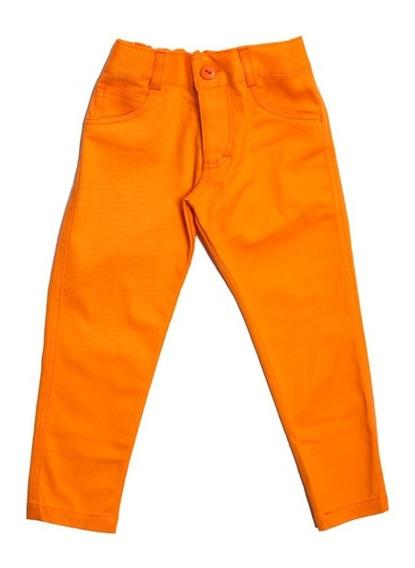Pantalónes Para Niña Bambino Unicolor
