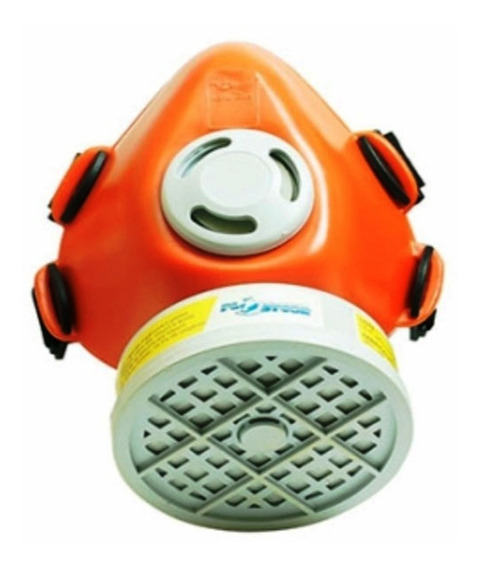Máscara Respirador 1/4 Facial C/ Filtro Voga Proteção
