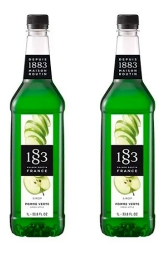 Imagem 1 de 1 de 2 Xarope Soda Routin 1883 Maça Verde Francês O Melhor Valor