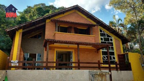 Casa Com 2 Dormitórios À Venda, 198 M² Por R$ 750.000,00 - Clube De Campo - Mairiporã/sp - Ca0265