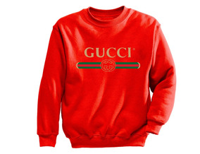 Sudadera Crewneck Gucci Negra-roja-azul-gris Envios Gratis