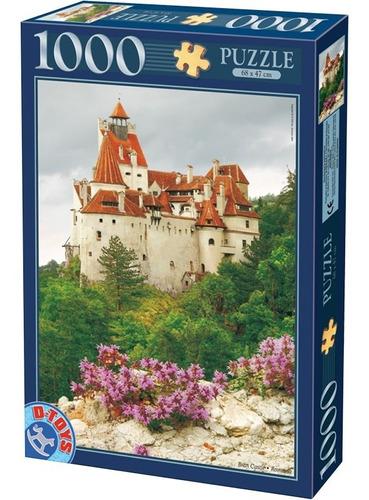 Rompecabezas D-toys 1000 Pzas Castillo Bran, Rumania