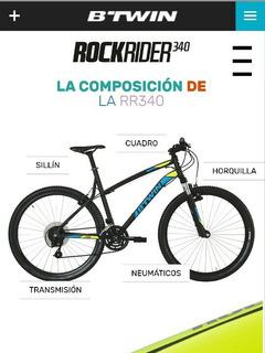Bicicleta Francesa Marca Btwin
