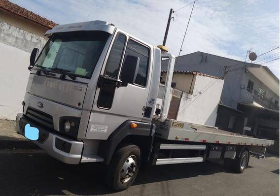 Caminhão Guincho Cargo 1119 Ano 15 Plataforma Com Asa Delta