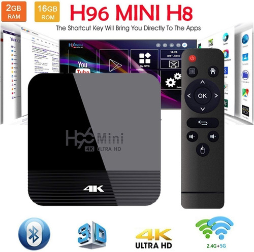Tv Box Smart Tv Android Navega Internet  Redes Social