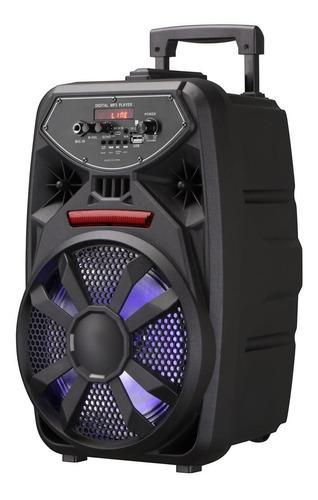 Parlante Bluetooth Portátil Con Micrófono 8 Pulgadas Potente