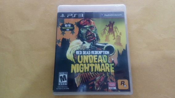 Red Dead Redemption Undead Nightmare Para Playstation 3