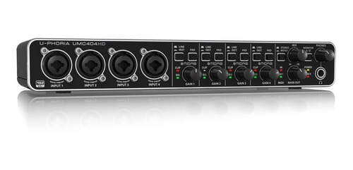 Interfaz De Audio Behringer U-phoria Umc404hd Interface