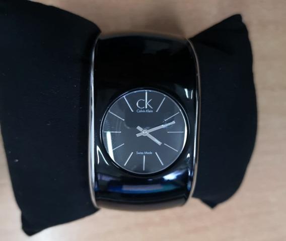 Relógio Feminino Calvin Klein - Gloss Black Dial Ladies