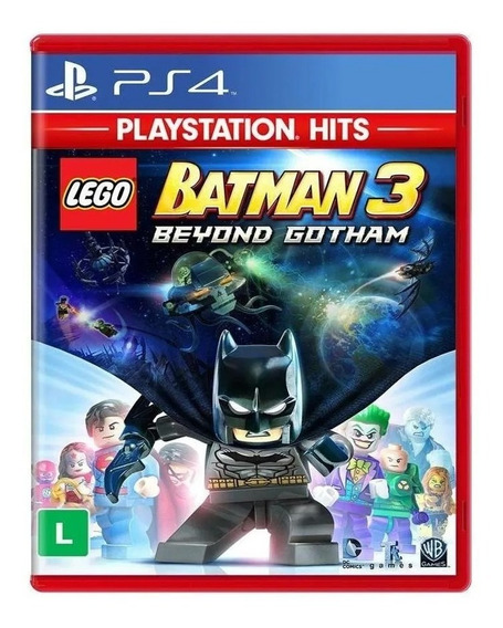 Lego Batman 3 Beyond Gotham Ps4 Mídia Física Envio Imediato