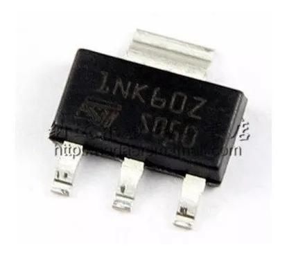 10 Unid 1nk60z Smd Mosfet 600v 300ma Original Pronta Entrega