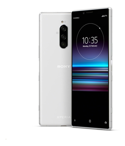 Sony Xperia 1 6.5´ 4g 128gb 6gb Ram Triple Cámara Blanco