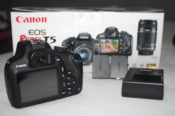 Canon T5 Corpo + Duas Baterias