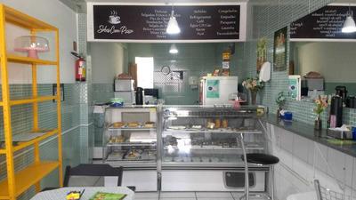 Lanchonete Com Café, Doces E Salgados