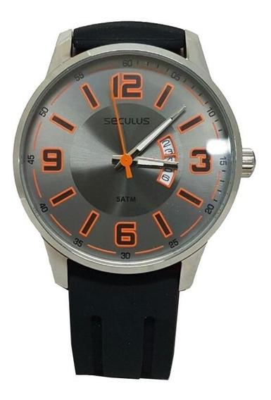 Kit Relógio Masculino Seculus + Kit De Chaves - 28640g0svnu2