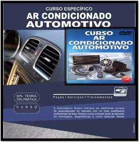 Curso 10 Dvds Ar Condicionado Automotivo + Brindes A83