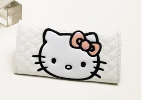 Cartera Dama Mickey Mouse Mafalda Hello Kitty Mimmie Stitch