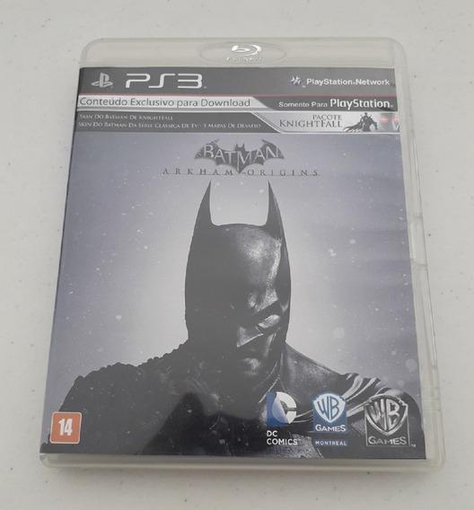 Jogo Batman Arkham Origins - Ps3 Mídia Física Dublado Pt Br