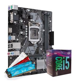 Kit Upgrade 8º Geração Intel Core I5 8400 + H310m + 8gb Ddr4