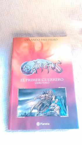 Imagen 1 de 5 de Angus El Primer Guerrero Libro Uno - Orlando Paes Filho 2006