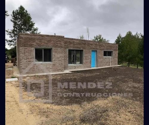 Casa Ladrillo Bolseado Y Plancha, 50 M2 U$s 20.000