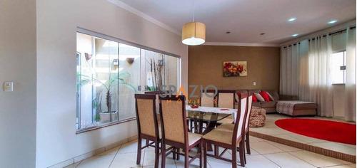 Imagem 1 de 21 de Casa Com 3 Dormitórios À Venda, 171 M² Por R$ 590.000 - Jardim Itapuã - Rio Claro/sp - Ca0572