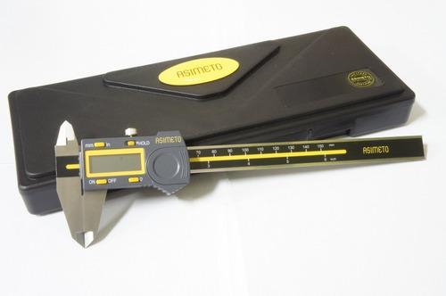 Calibre Digital 150mm Asimeto 307-06-4 Solfer