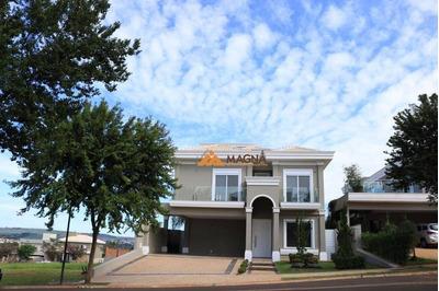 Casa Com 5 Dormitórios À Venda, 342 M² Por R$ 2.100.000 - Reserva Santa Luisa - Ribeirão Preto/sp - Ca2092