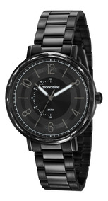Relógio Mondaine Masculino 53677lpmvpe3 Preto