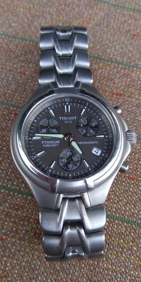 Relógio Tissot Cronógrafo Titânio