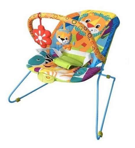 Cadeira Cadeirinha Descanso Vibratória E Musical Lite Safari