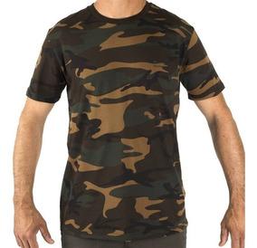 Camiseta Playera Manga Corta Caza Pesca Steppe Sg Sl 100