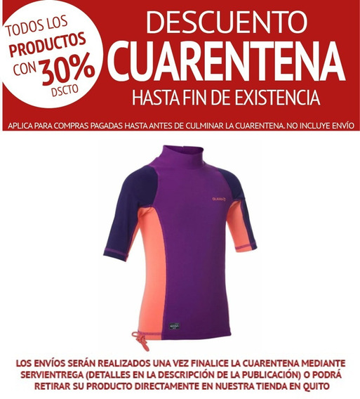 Camiseta Protección Solar Anti-uv Spf +50 @tepuy_ec