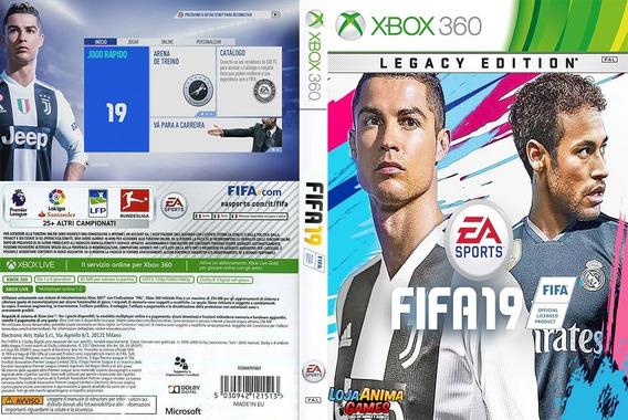 Fifa 19 Xbox 360 100% Em Português Mídia Digital