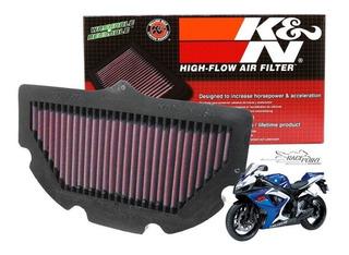 Filtro Ar K&n Kn Srad Gsx Gsxr 750 2007 2008 2009 2010 2011