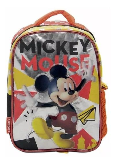 Mochila Espalda Jardin 12¨ Original Mickey Mouse