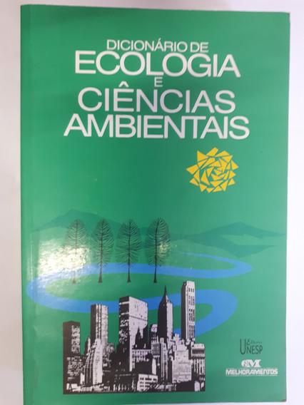 Dicionário De Ecologia E Ciências Ambien Henry W Art