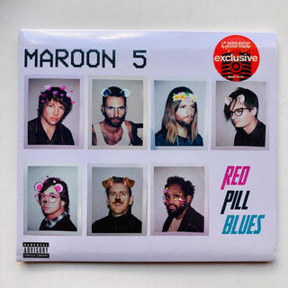 Maroon 5 Red Pill Blues Target Edition Us Version + Poster!