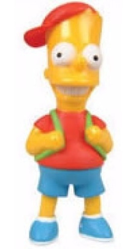 Bart Simpson Com Boné - Miniatura Simpson! Colecione!