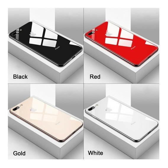 Funda Cristal Acrilico iPhone X Xr Xs Max 6s 7 8 Plus
